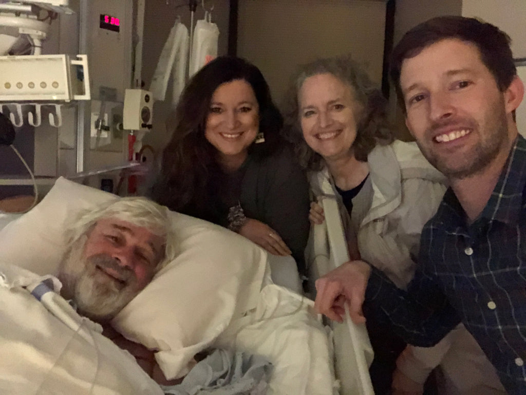 My daddy almost died this week...Instead, we all got to see Jesus