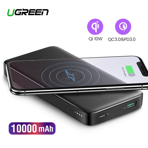 UGREEN QC3.0+PD 10000mAh Power Bank