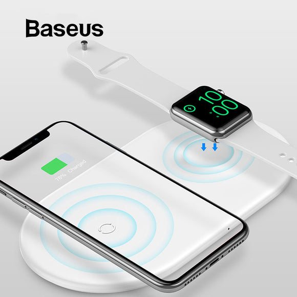 Baseus 2-in-1 Wireless Charging Pad