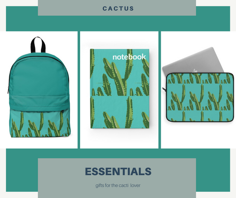 cactus designed gifts for her
