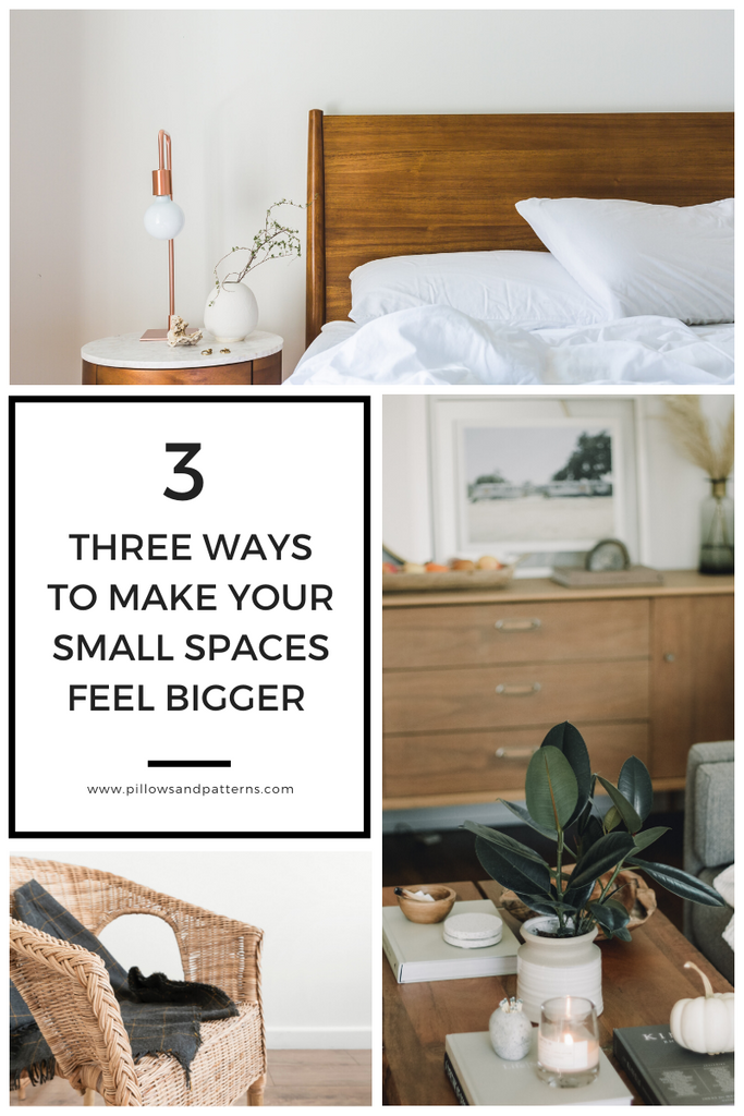 how to create more space in small spaces