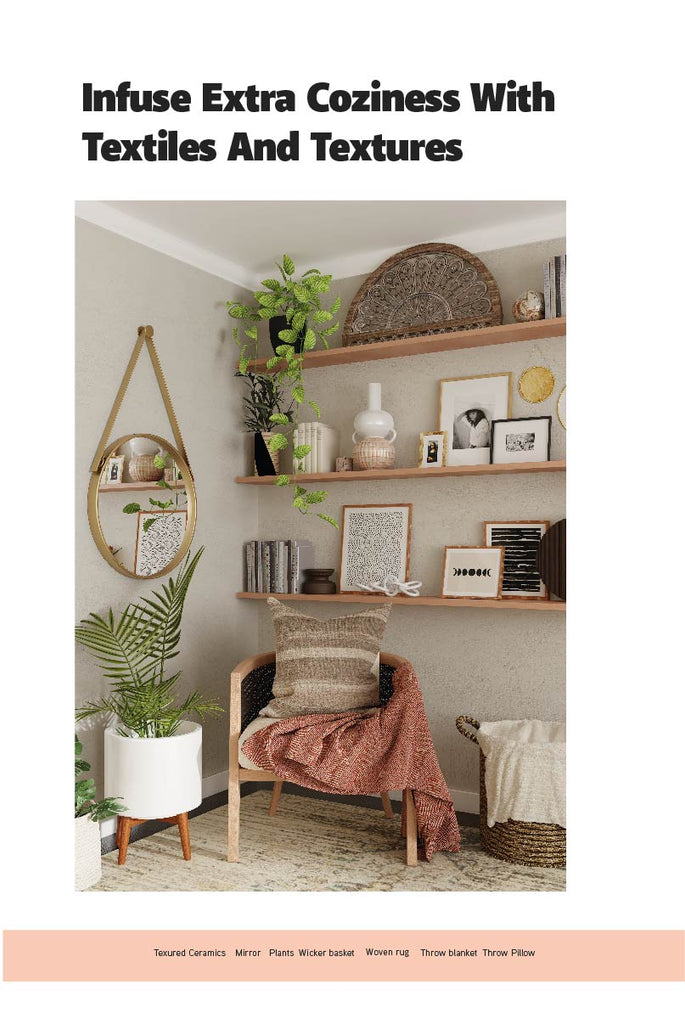 a bedroom corner decorated with plants, a chair and throw pillow