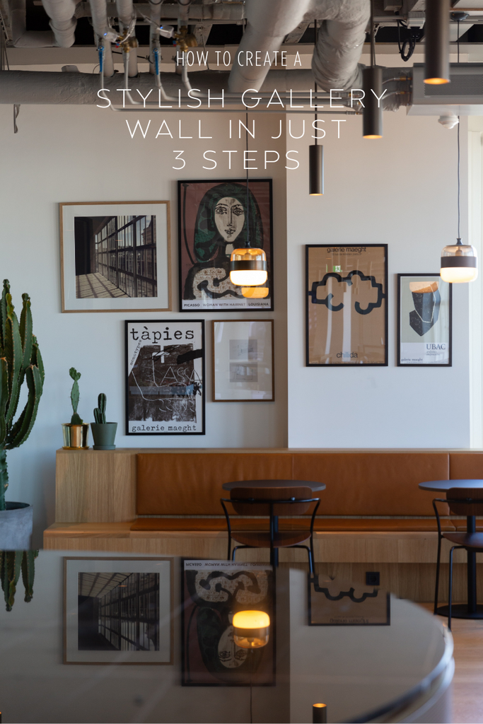 Image with a gallery wall