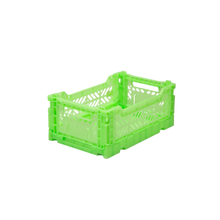 Load image into Gallery viewer, FLURO GREEN MIDI CRATE