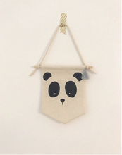 Load image into Gallery viewer, PANDA ANIMAL fabric banner