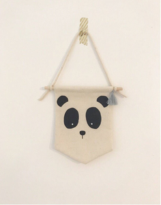 POLAR BEAR ANIMAL fabric banner