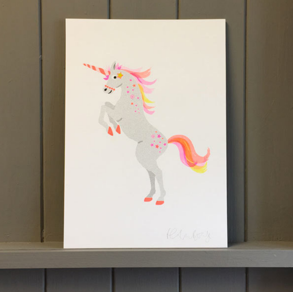UNICORN RISO PRINTS