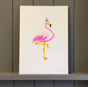 FLAMINGO RISO PRINTS