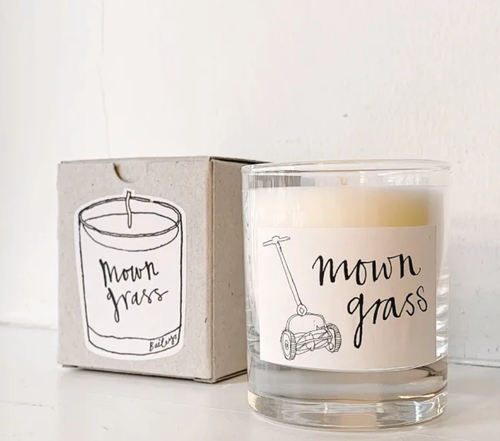 MOWN GRASS - BAILEYS SOYA WAX CANDLES