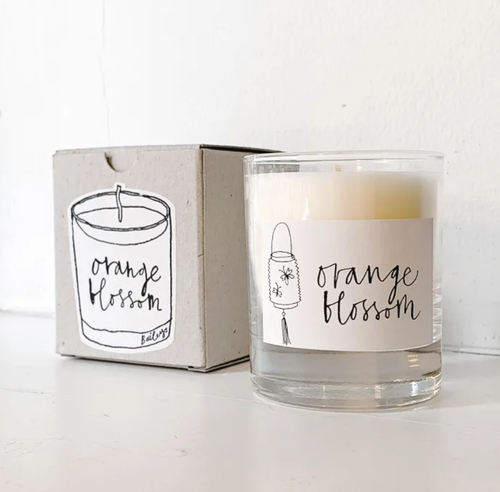 ORANGE BLOSSOM - BAILEYS SOYA WAX CANDLES