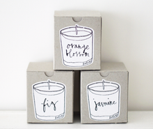Load image into Gallery viewer, ORANGE BLOSSOM - BAILEYS SOYA WAX CANDLES