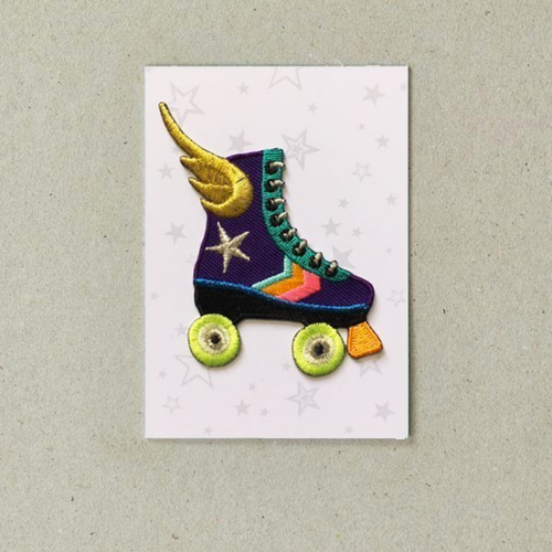 Roller Skate Patch by Petra Boase