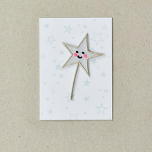 Load image into Gallery viewer, Star Wand Patch by Petra Boase