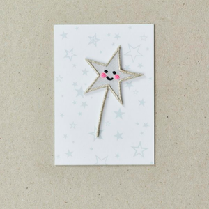 Star Wand Patch by Petra Boase
