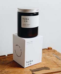 HOBO MED JAR CANDLE
