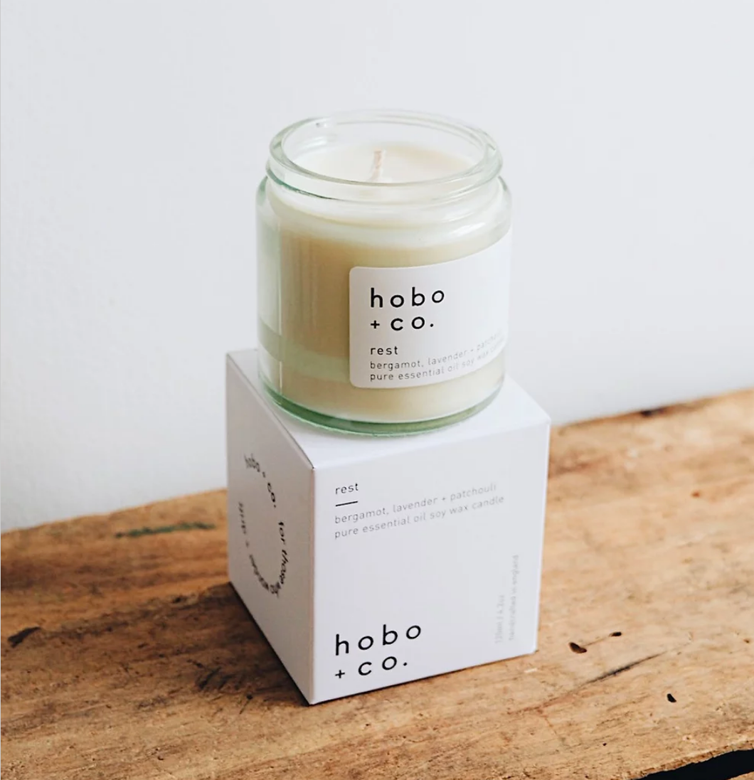 HOBO ESSENTIAL OILS CANDLE