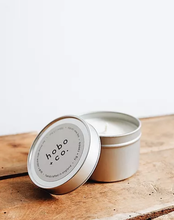 Load image into Gallery viewer, HOBO TRAVEL TIN CANDLE