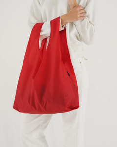 RED BAGGU RE-USABLE SHOPPER