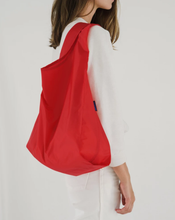Load image into Gallery viewer, RED BAGGU RE-USABLE SHOPPER