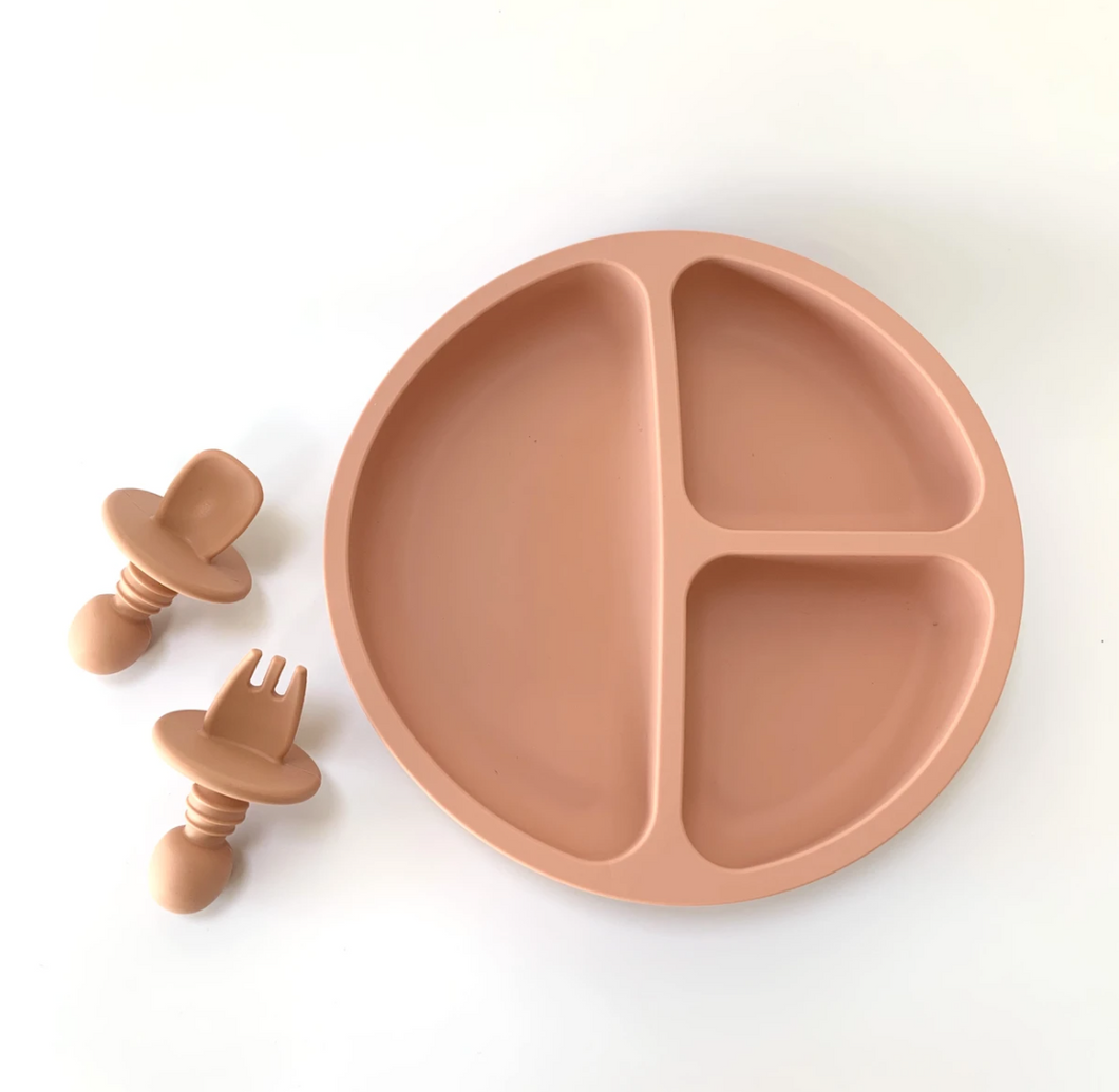 ROSE SUCTION PLATE & EASY FORK