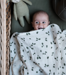 OAK LEAF LUXURY SWADDLE DUO