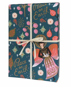 PEACE ON EARTH GIFT WRAP