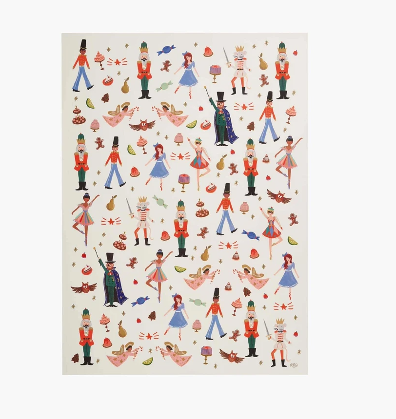 NUTCRACKER GIFT WRAP 3M ROLL