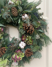 Load image into Gallery viewer, HYDRANGEA WREATH