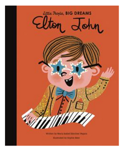 ELTON JOHN LITTLE PEOPLE BIG DREAMS SERIES