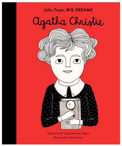 AGATHA CHRISTIE - LITTLE PEOPLE BIG DREAMS SERIES