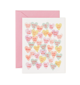 VALENTINES LOVE HEART RIFLE PAPER CARDS