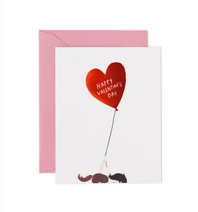 VALENTINES LOVE BALLOON RIFLE PAPER CARDS