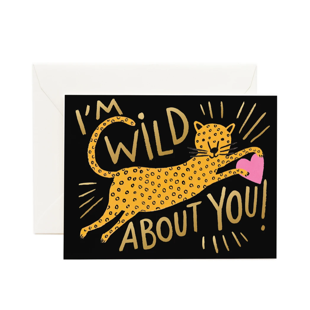 WILD ABOUT YOU RIFLE PAPER CARDS