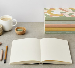 Rose Layflat Notebook