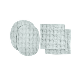 WHITE BIG WAFFLE MAKE-UP PADS
