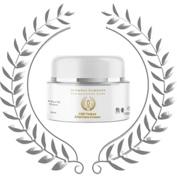 CBD Tattoo Aftercare Cream - Olympus Gardens CBD