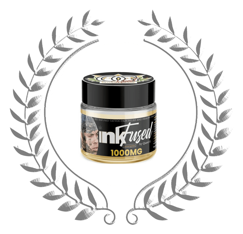 INKFused - CBD infused Pain relief and tattoo Healing Balm - Olympus Gardens CBD