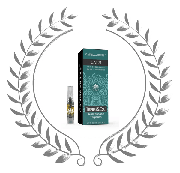 CBD Vape Cartridge - Calm - Olympus Gardens CBD