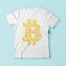 Load image into Gallery viewer, Bitcoin Typographic Word Cloud