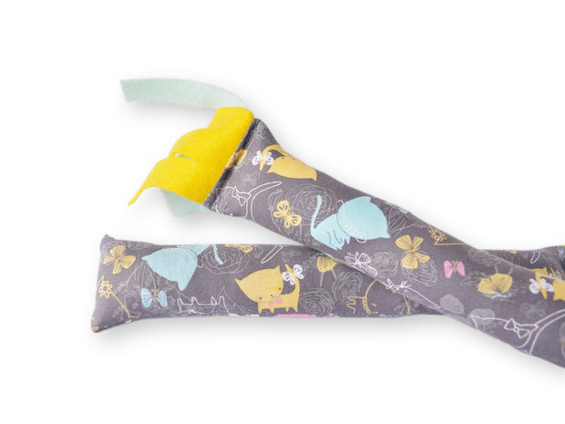 Catnip Kicker - Cat Kicker - Eco-friendly Cat Toy - Crinkle Cat Toy