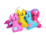 Eco-friendly Cat Toy – Catnip Toy – Silvervine Matatabi Cat Toy – Valerian Cat Toy