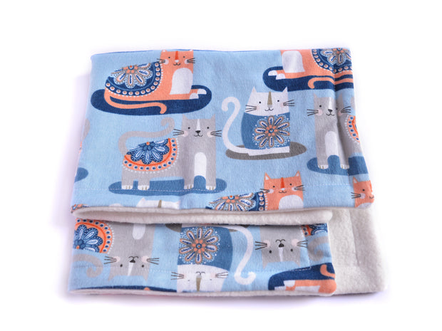 Eco-friendly Cat Blanket - Blanket for Cats - Bamboo Cat Blanket - Yoga Cats
