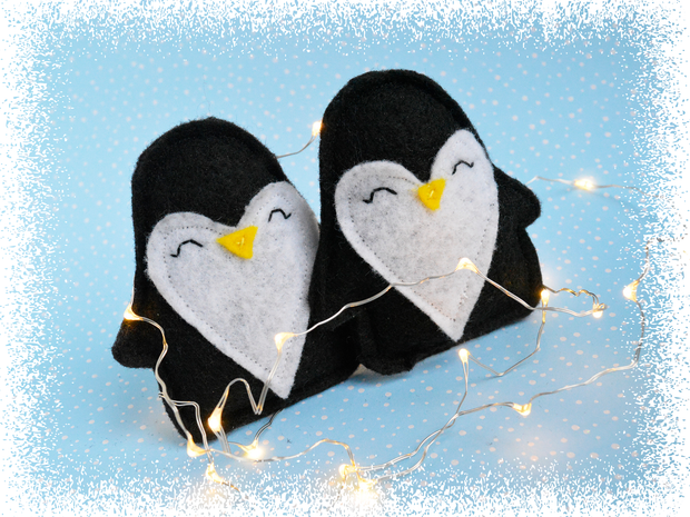 Penguin Christmas Cat Toy – Eco-friendly Catnip Toy – Silvervine Matatabi Cat Toy – Valerian Cat Toy