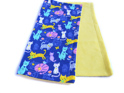 Eco-friendly Cat Blanket - Blanket for Cats - Bamboo Cat Blanket - Purring in the Moonlight