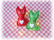 Christmas Cat Toy – Eco-friendly Catnip Toy – Silvervine Matatabi Cat Toy – Valerian Cat Toy