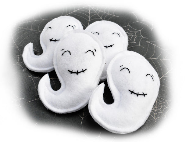 Halloween Cat Toy – Ghost Catnip Toy – Eco-friendly Matatabi Silvervine Cat Toy – Valerian Cat Toy