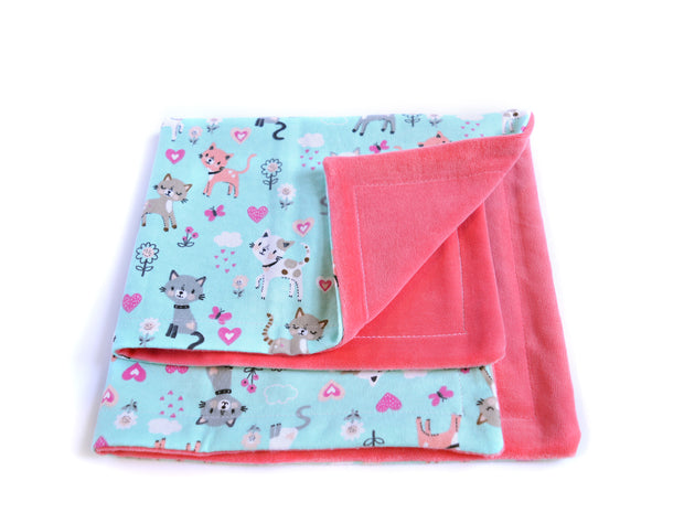 Eco-friendly Cat Blanket - Blanket for Cats - Pourring Cats