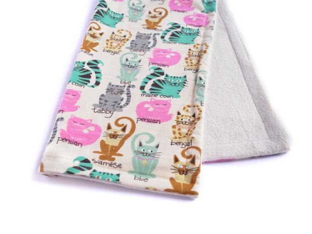 Eco-friendly Cat Blanket - Blanket for Cats - All Natural Sherpa Cat Blanket - Kitty Kinds