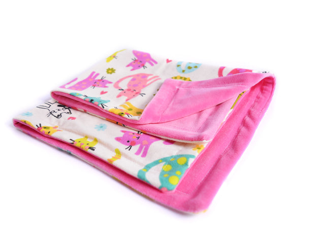 Eco-friendly Cat Blanket - Blanket for Cats - Colors of Cattitude