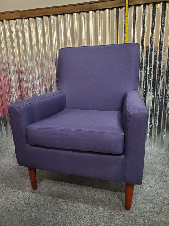 Chair - purple accent